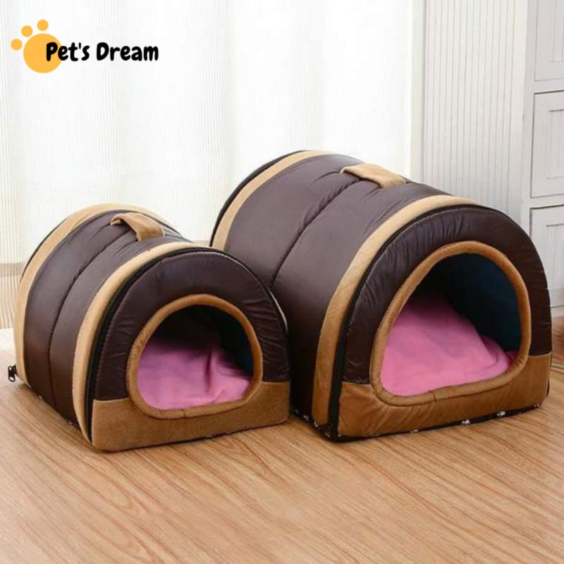 Dog House Nest With Foldable Mat
