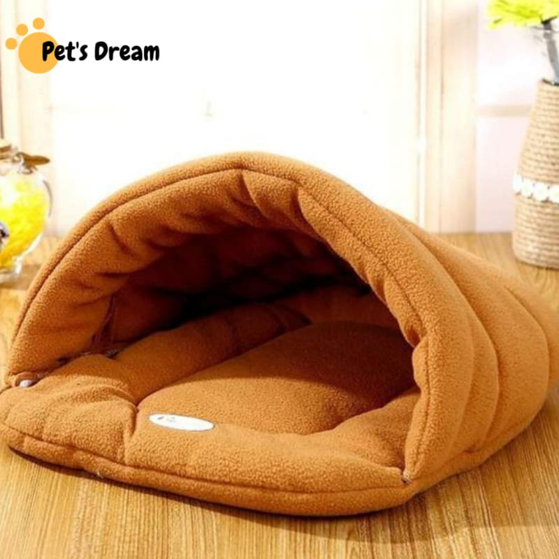 Pet Cozy Cave Sleeping Bag - Houses Kennels & Pens