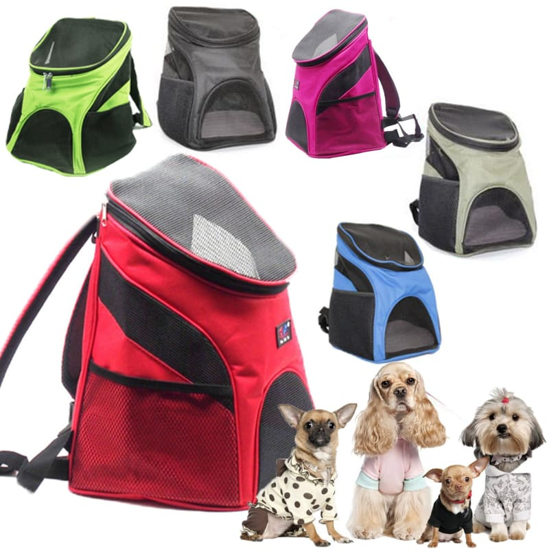 Premium Breathable Pets Travel Backpack Carrier