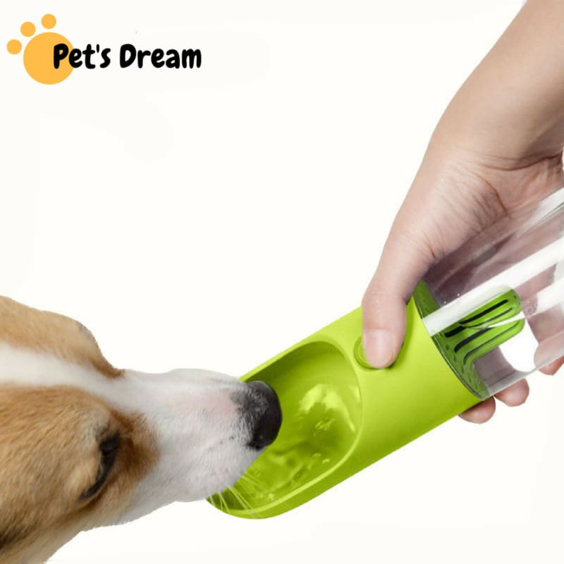 Premium Carbon Filter 400ML Pets Drinking Water Bottle - Dog Feeding