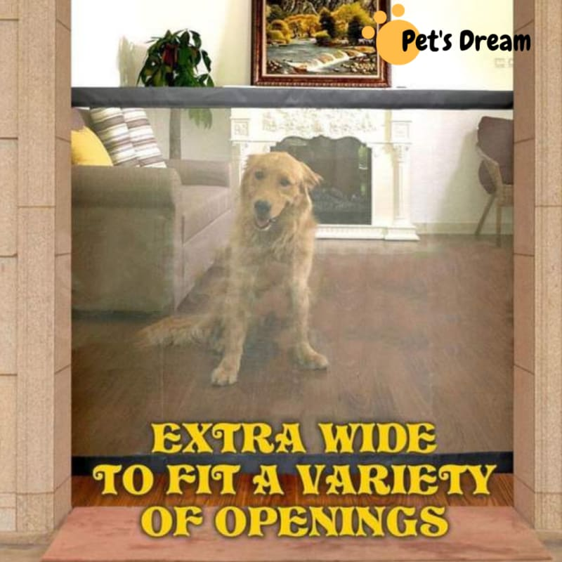 Premium Mesh Magic Pet Gate