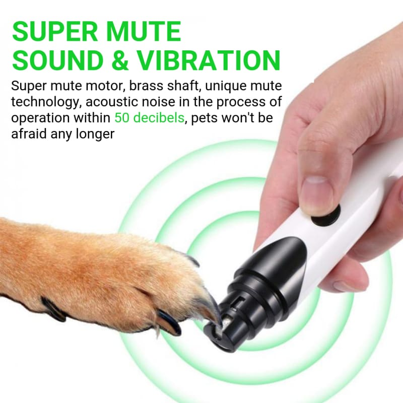 Premium Rechargeable Painless Pet S Nail Grinder Upgraded Version