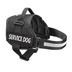 Pro All-In-One Sturdy No-Pull Dog Harness - XXS / BLACK / THERAPY DOG