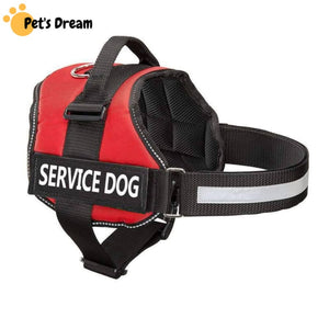 Pro All-In-One Sturdy No-Pull Dog Harness - XXS / RED / THERAPY DOG