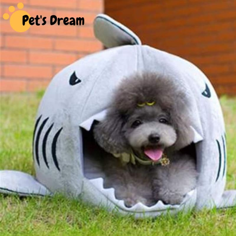 Unique Shark Bed for Pets