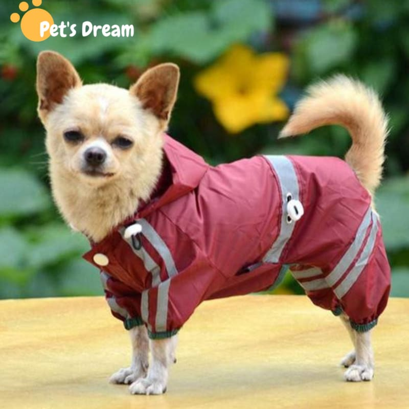 Waterproof Dog Raincoat Apparel
