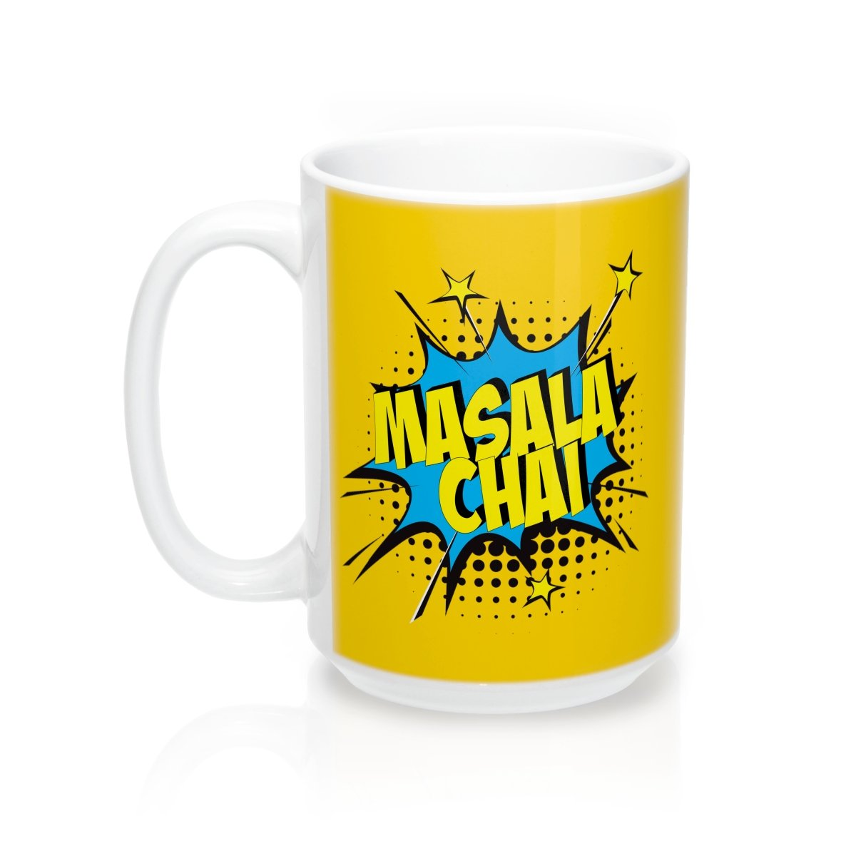 Yellow Masala Chai Mug 15oz