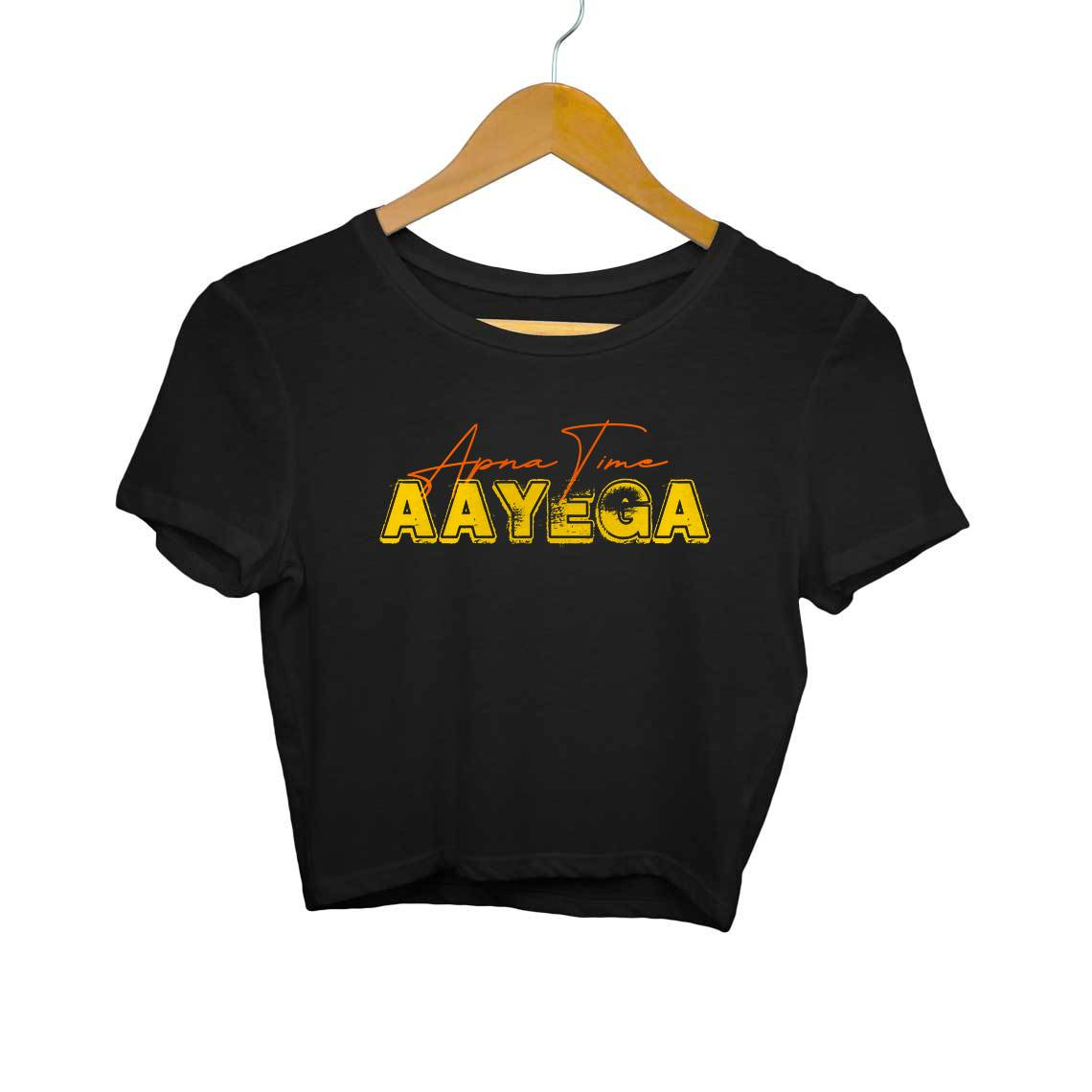 Apna Time Aayega Gully Boy Women's Crop Top