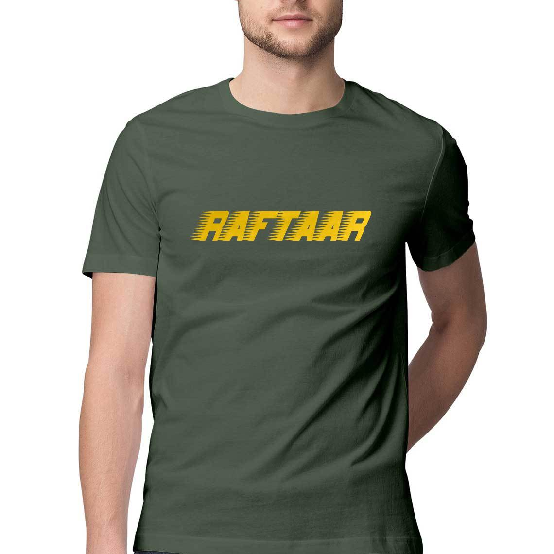Raftaar Speed Street Style Half Sleeve Men's T-shirt