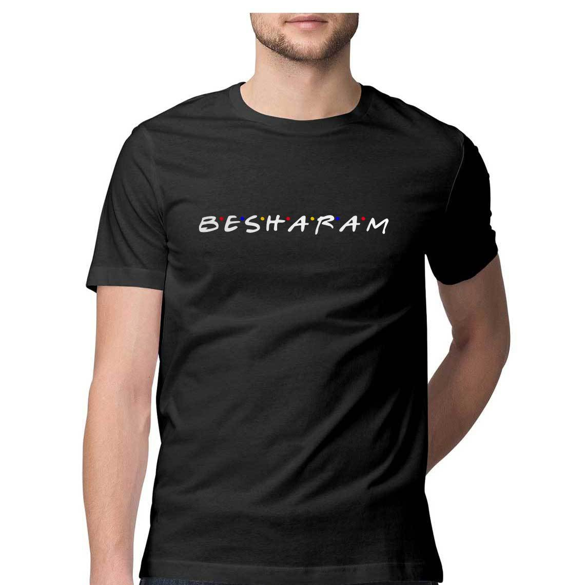 Besharam [As seen on TIKTOK] Rahul Rai's Favorite! Men's Tshirt