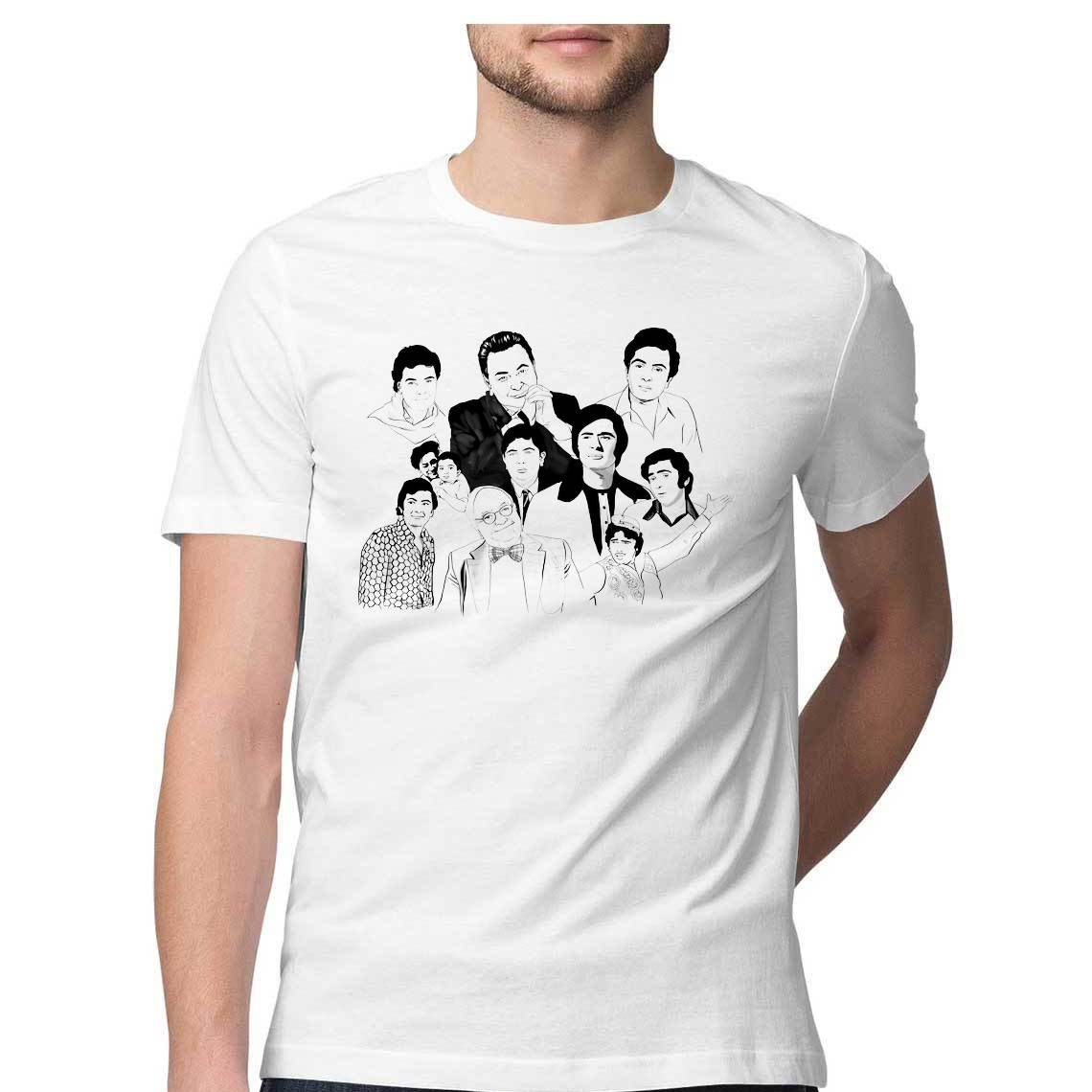 Avatars of Rishi Kapoor T-shirt