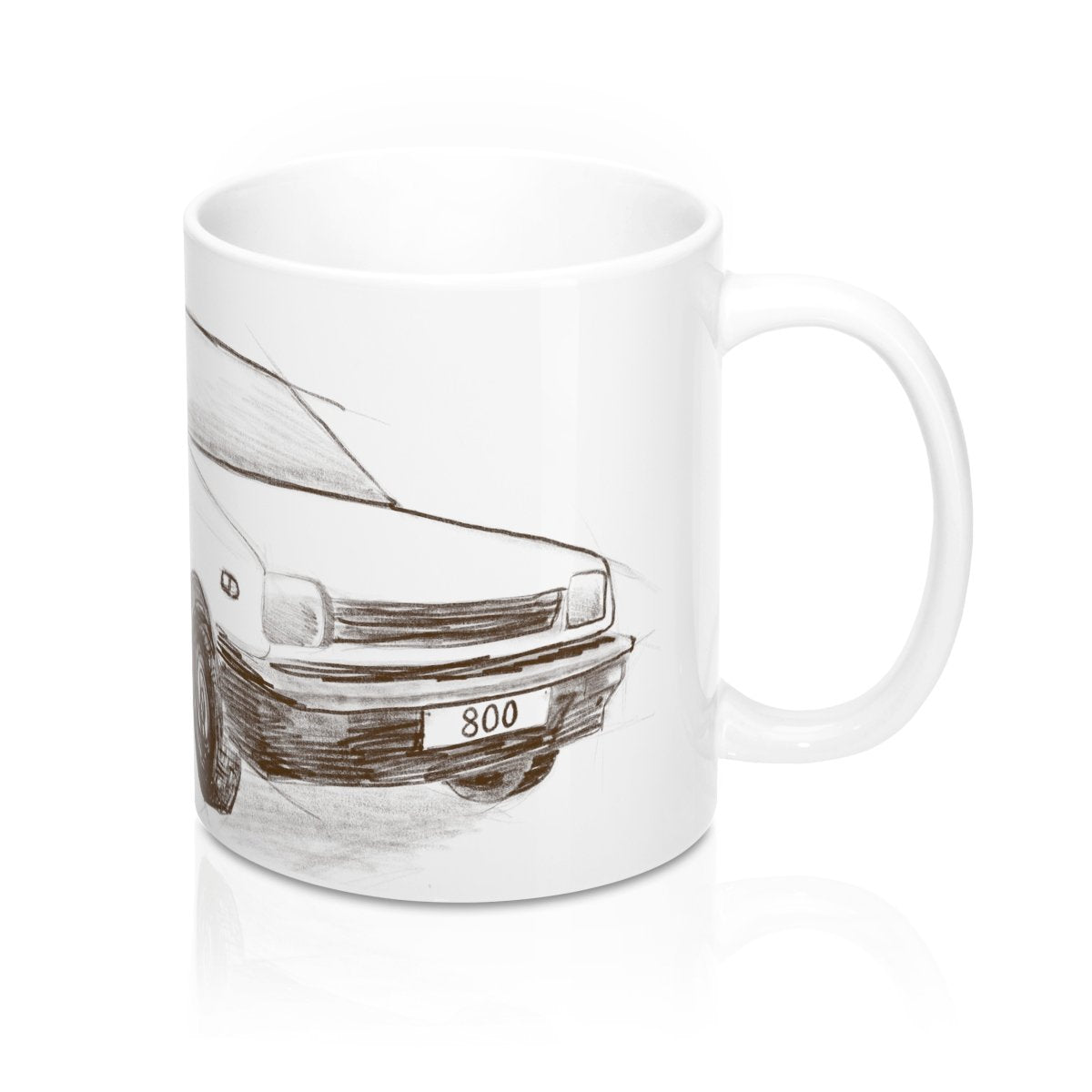 Maruti 800 Ceramic Mug 11oz