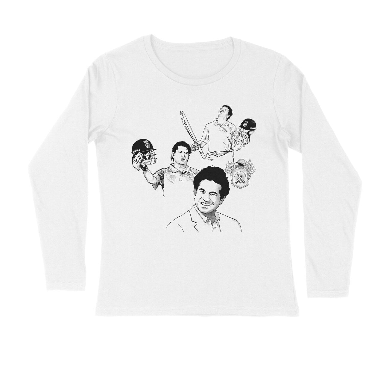 Sachin Tendulkar India Squad Long-sleeve T-shirt