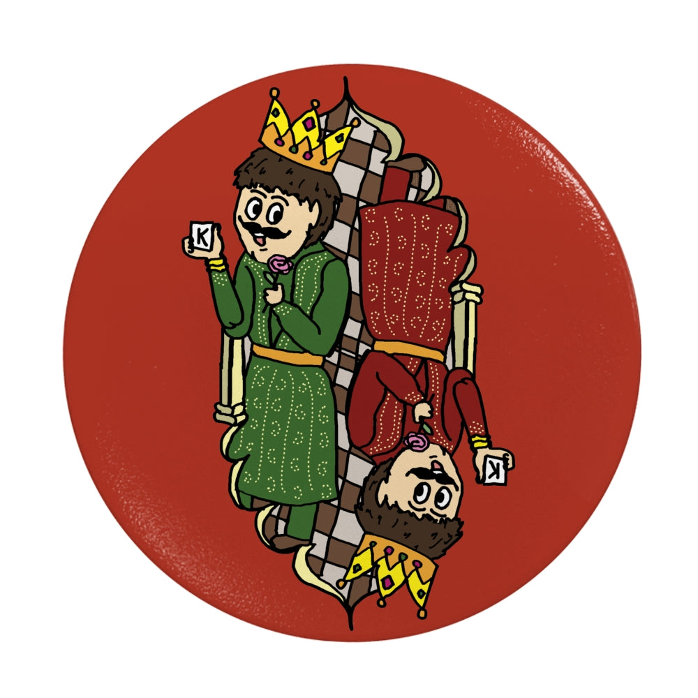 King of Hearts Amul Inspired Collapsible Phone Grip PopSocket