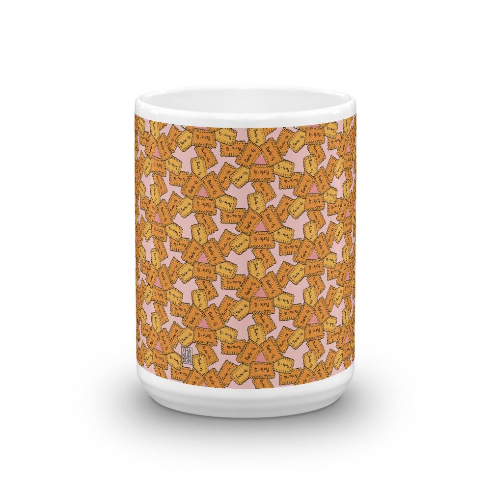 Chai Biscuit White Ceramic Mug