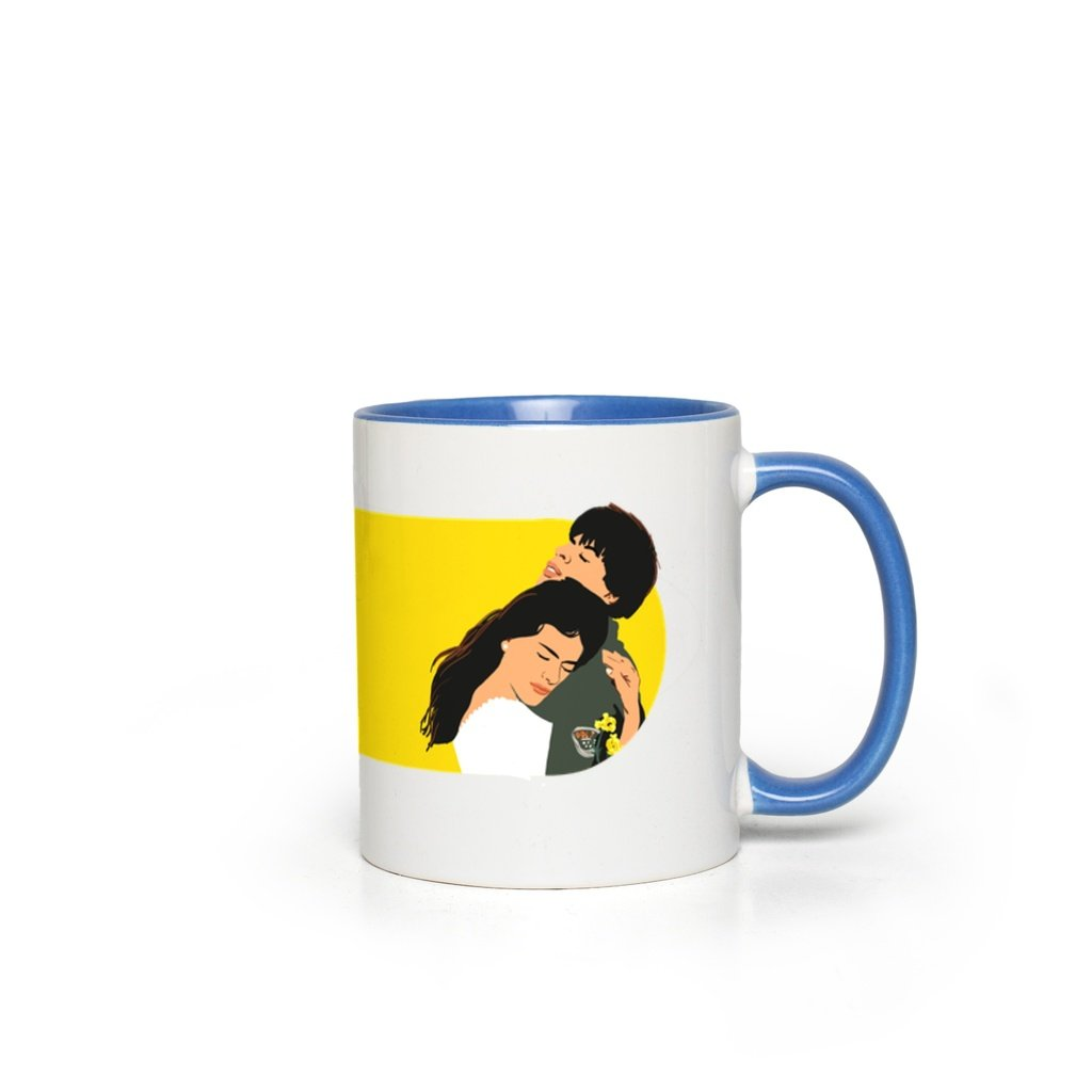 DDLJ Bollywood Couple Accent Mug
