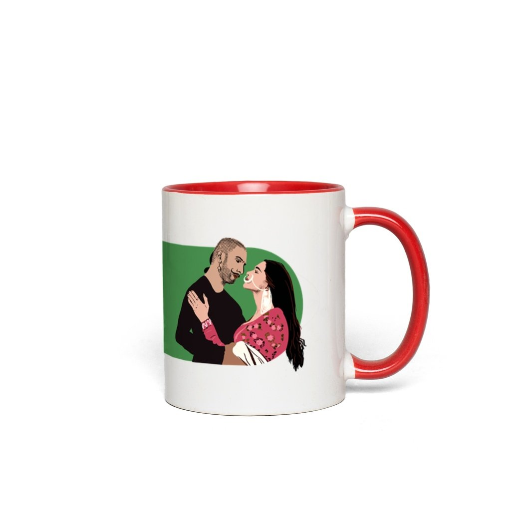 Bajirao Mastani Bollywood Couple Accent Mug