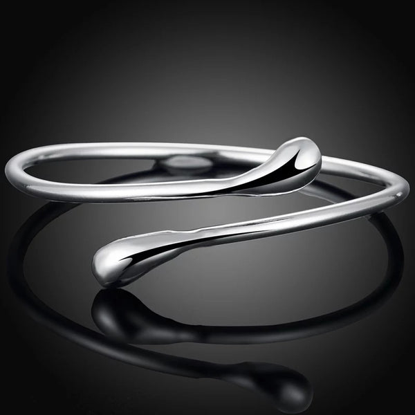 Wrap Sterling Silver Bangle