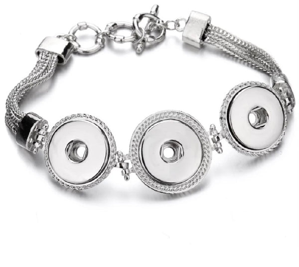Triple Snap Classic Bracelet 18mm