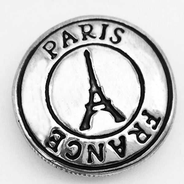 Paris Snap Charm 18mm