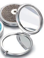Snap Charm Compact Mirror
