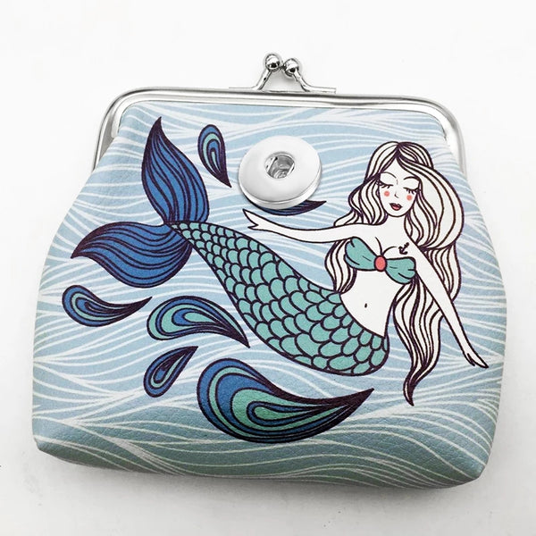 Mermaid Snap Coin Purse 18mm