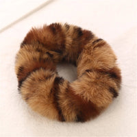 2 pack of Fur Cheetah Scrunchies