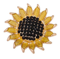 Sunflower Ginger Snap Compatible Charm 18mm