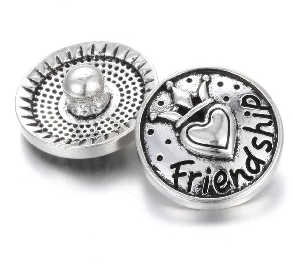 Friend Ginger Snap Button Compatible Charm 18mm