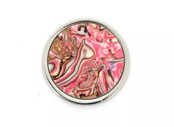 Pink Shell Medallion