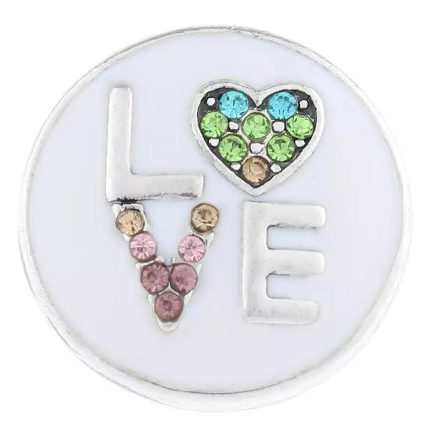 Love Ginger Snap Compatible Charm 18mm