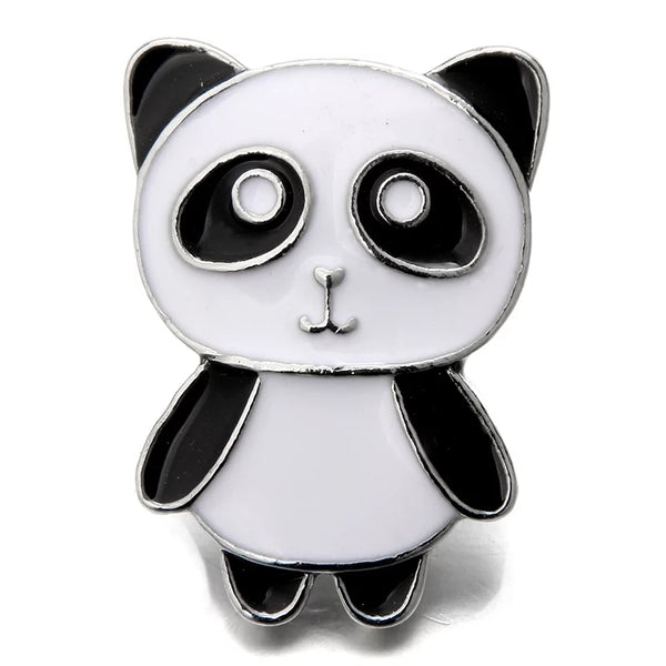 Panda Bear Snap Charm 18mm
