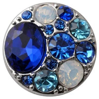 Royalty Blue Snap Charm 18mm
