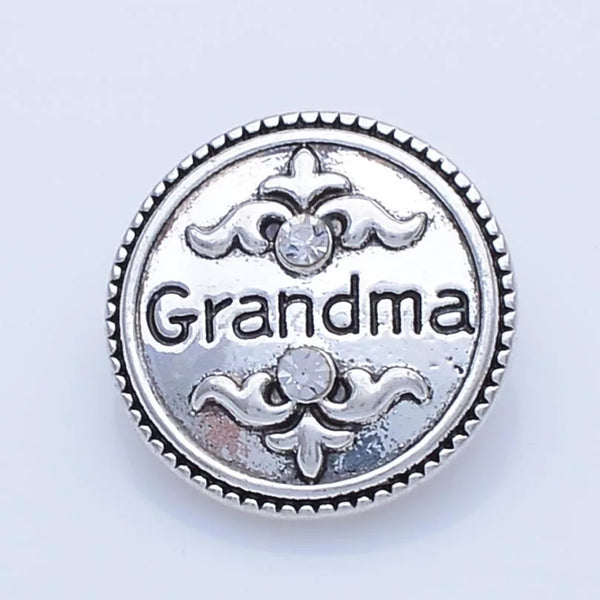 Grandma Snap Charm 18mm