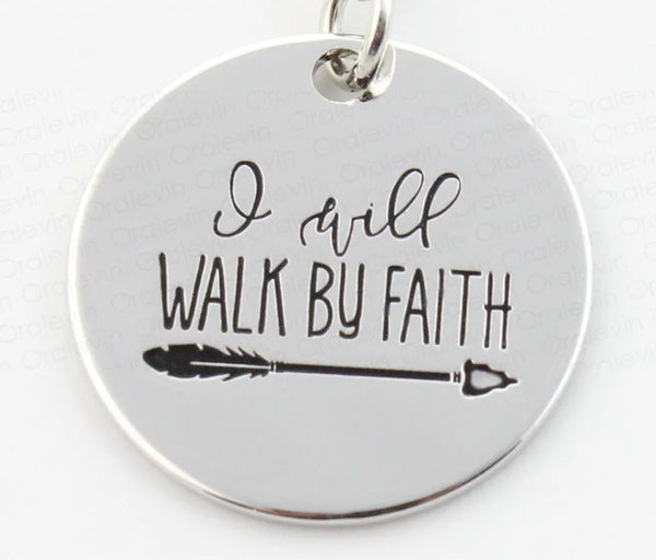 I Will Walk by Faith Necklace