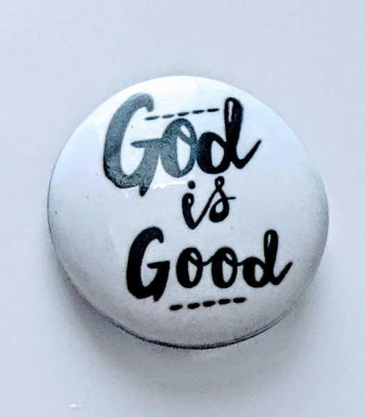 God is Good Ginger Snap Compatible Snap Charm 18mm