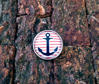 Anchor Ginger Snap Button Compatible Charm 18mm