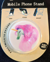 Magical Unicorn phone holder finger grip accessory
