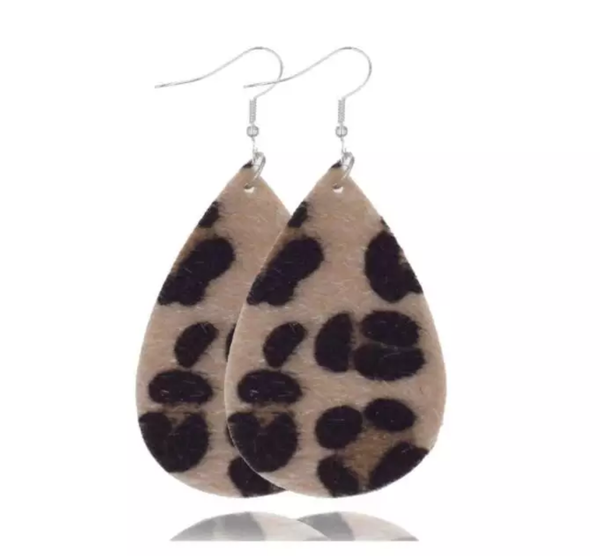 Cheetah Print Earrings