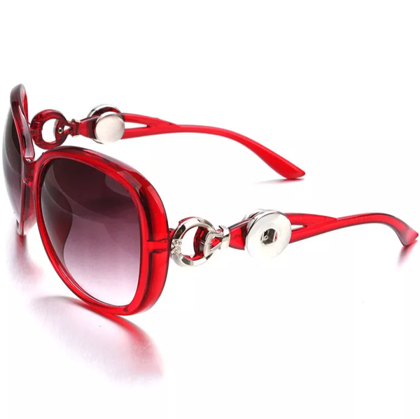 Red Snap Sunglasses