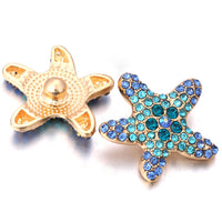 Starfish Snap Button 18mm