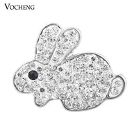 Rabbit Snap Charms 18mm