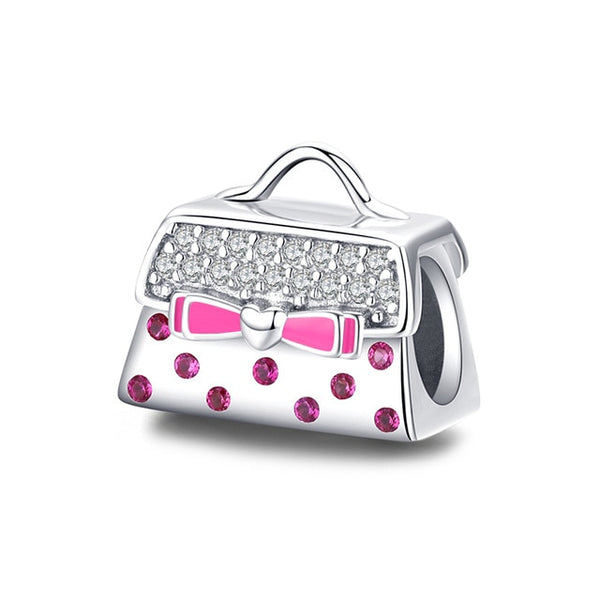 Purse Pandora Compatible 925 Sterling Silver Charm