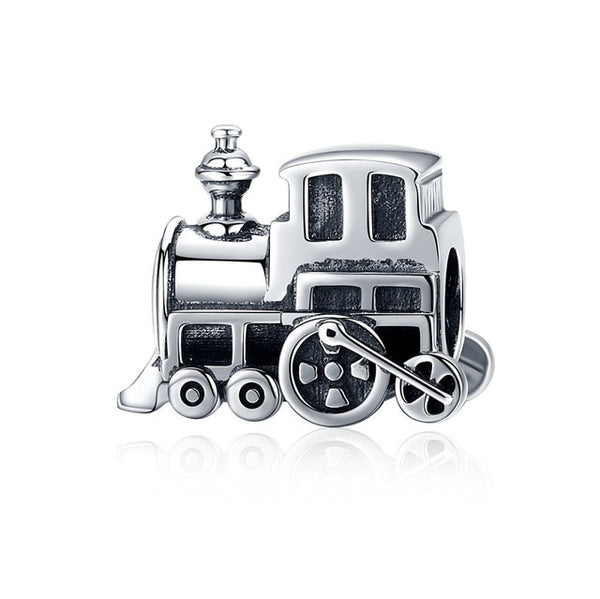 Train Pandora Compatible 925 Sterling Silver Charm