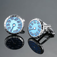 Speedometer Men's French shirts cufflinks