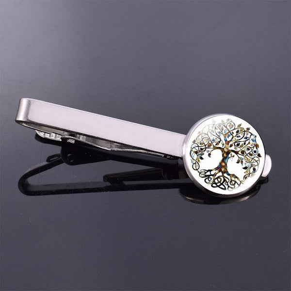 Tree of Life Tie Clip