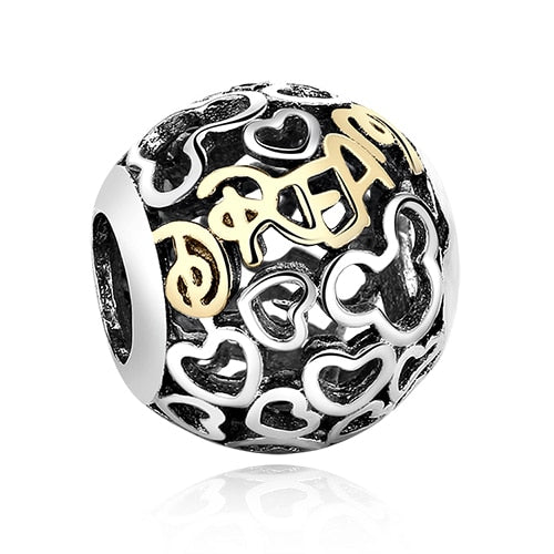 Dream 925 Sterling Silver Pandora compatible charm