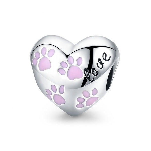 Pet Paw Dog Cat 925 Sterling Silver