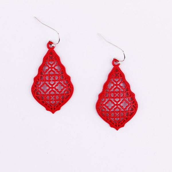 Morroccan Design Earrings