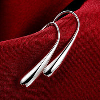 925 Silver Teardrop/Water drop/Raindrop Dangle Earrings